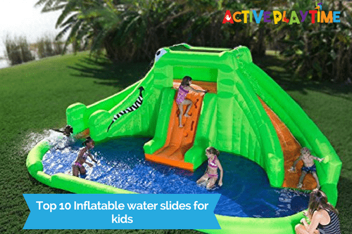 Best Water Toys For Kids : Top inflatable water slides for kids peak health pro